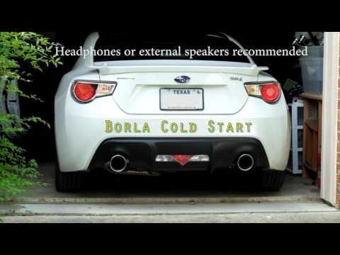 Borla 11839 FRS BRZ GT86 Rear Section Exhaust (Axle Back)