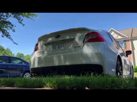 2018 Subaru WRX Nameless Muffler Delete *LOUD BACKFIRES*