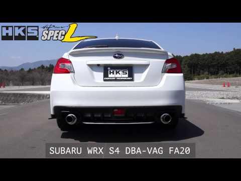 SUBARU WRX S4 DBA-VAG FA20 HKS Hi-Power Muffler Spec-L
